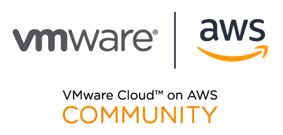 VMC_on_AWS_community